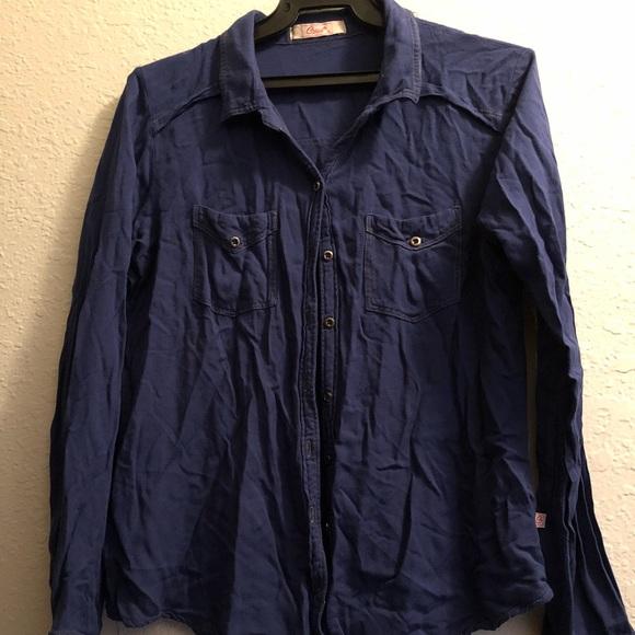 Navy Blue Long Sleeves